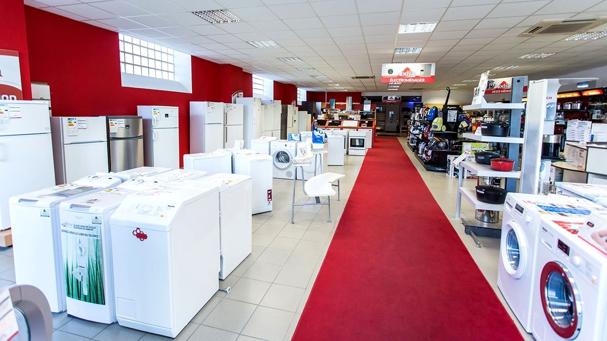 magasin electromenager discount trick