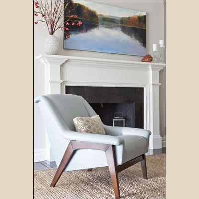 Home Interior Design Portfolio: Karen Houghton Interiors, Nyack, NY