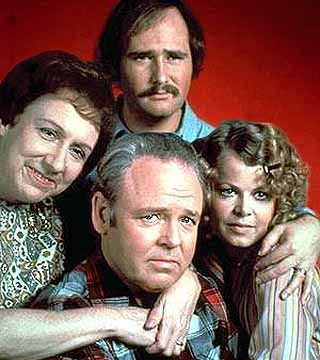 All In The Family Best Comedy of All Time Archie and Edith