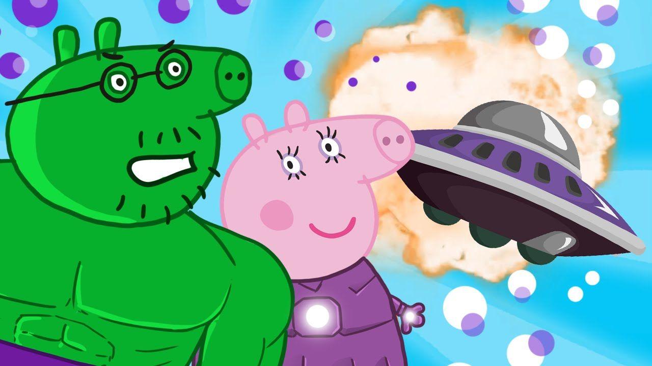 Peppa Pig Super Heroes Finger Family Nursery Rhymes Lyrics And