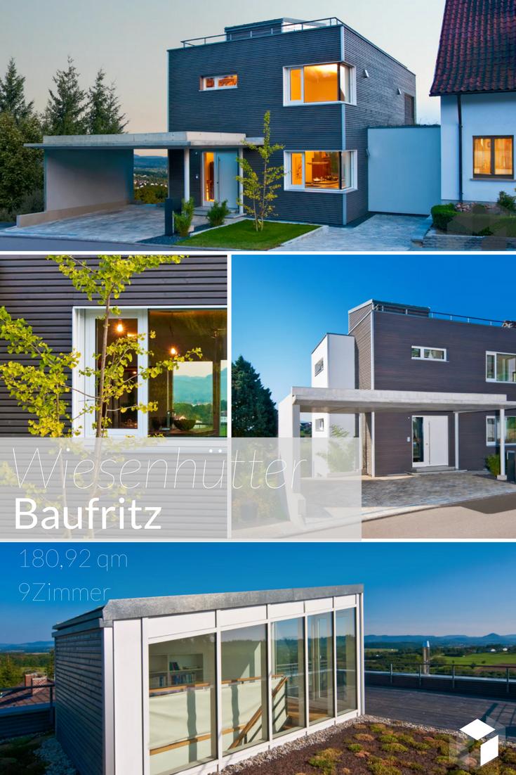 Das Einfamilienhaus Wiesenhütter mit großer Dachterrasse von ...