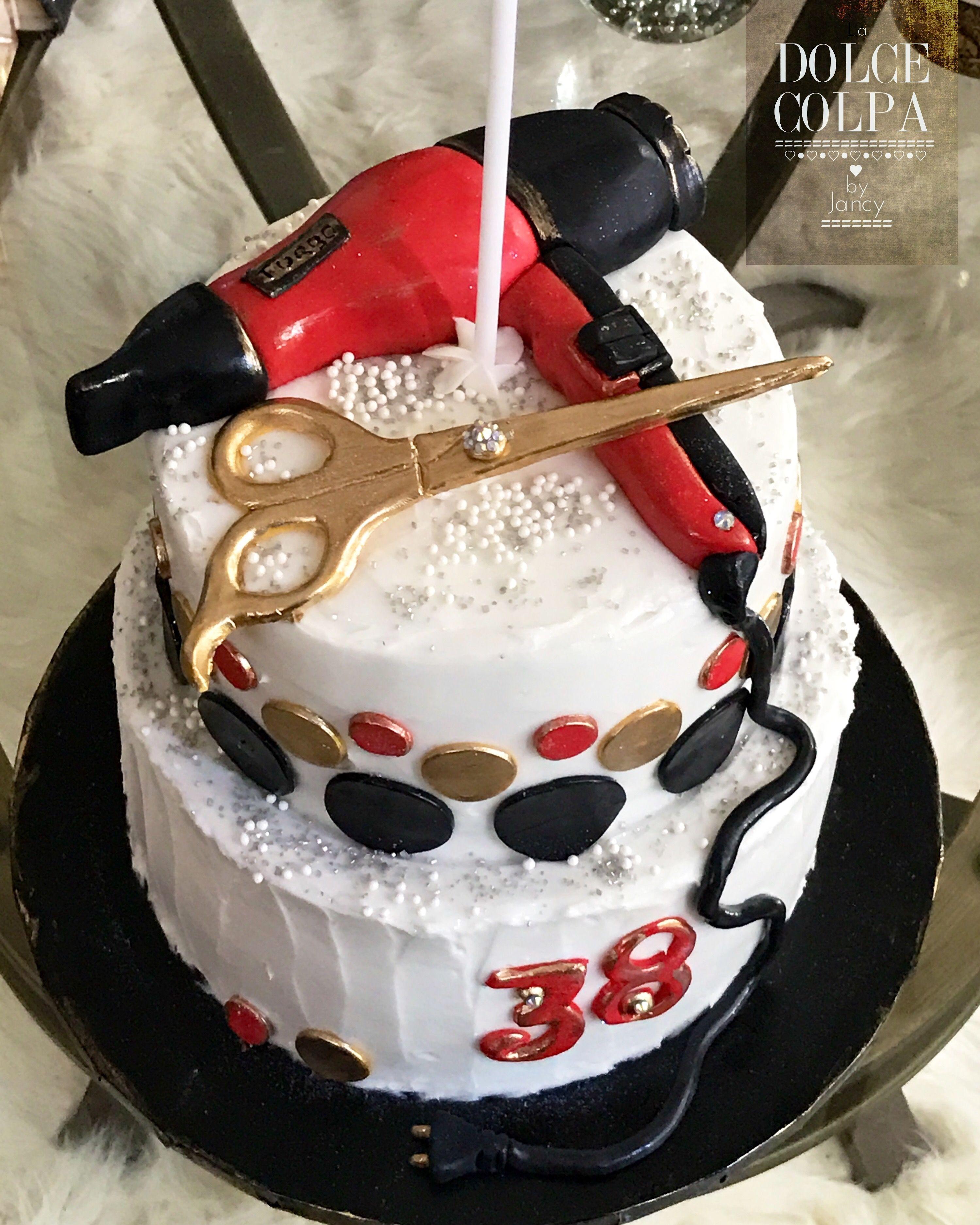 Hair Stylist Theme Birthday Cake by LA DOLCE COLPA  Cake, Cake