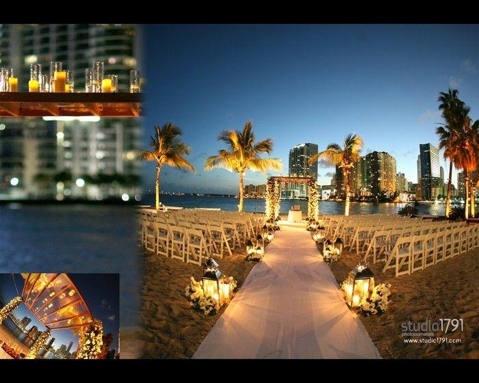 Wedding Ceremony By Always Flowers And Events Mandarin Oriental Miami