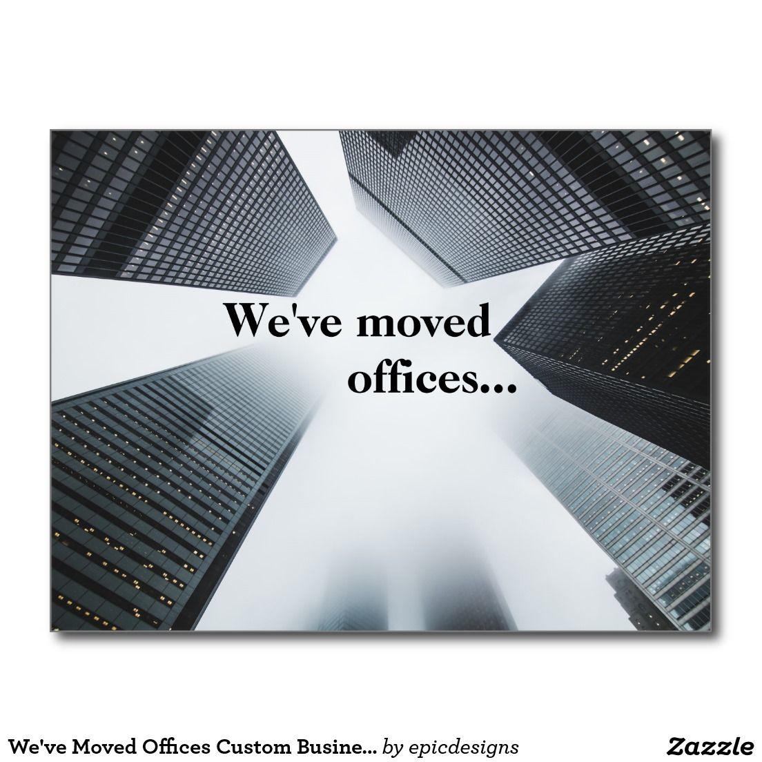 address change postcards