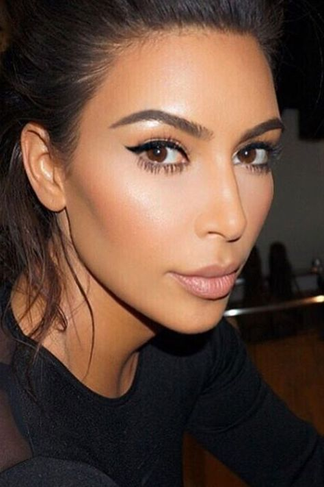 What you need to stop doing to your eyebrows in 2017 according to Kim Kardashian's make-up artist