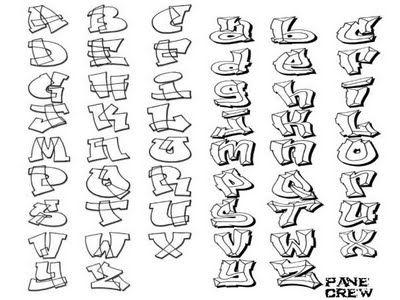 Graffiti alphabet fonts - Graffiti - Zimbio