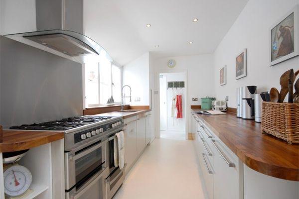 Walk Through Galley Kitchen Ideas