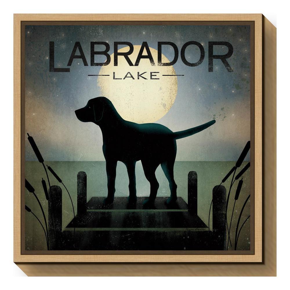 labrador lake ryan fowler sign dog lab