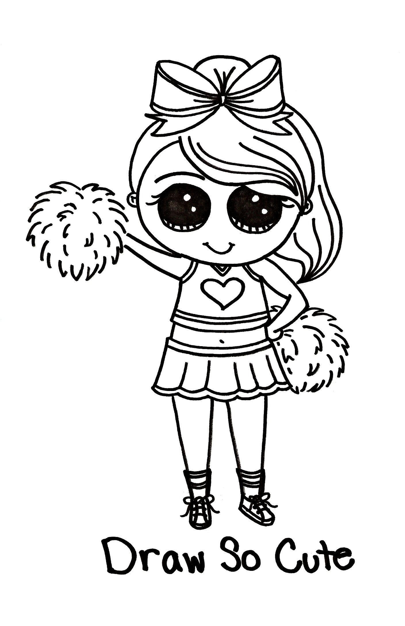Cute Unicorn Girl Coloring Pages | Super Duper Coloring