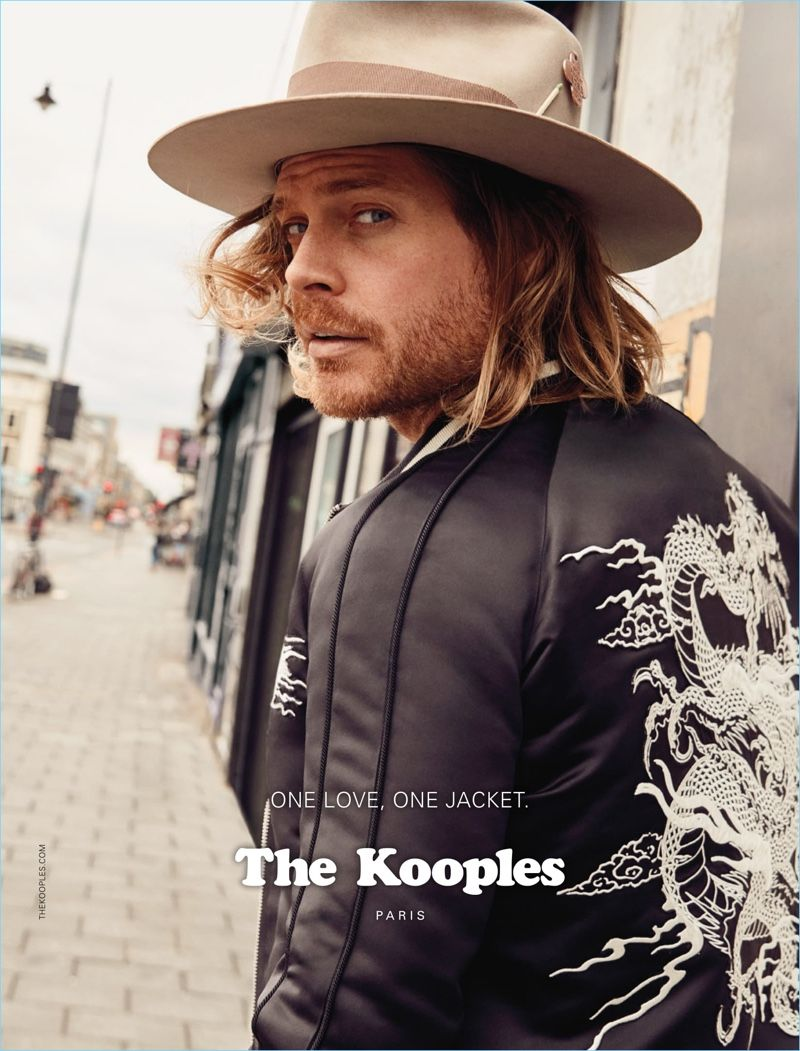 4886f1a7769cc The Kooples enlist Nick Fouquet as the star of its fall-winter 2017  campaign.