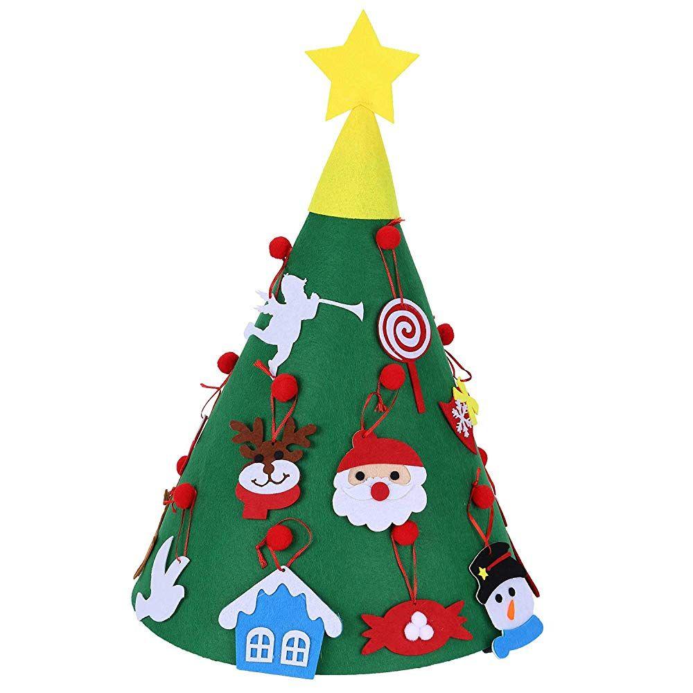 Valorcasa Felt Christmas Tree Felt Christmas Tree Xmas Crafts Diy Christmas Tree