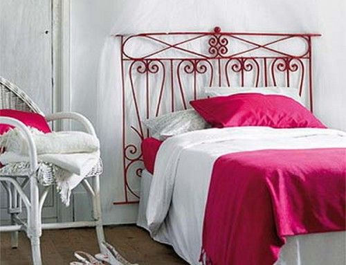 Diy Wrought Iron Headboard For Lovers Of French Country Style