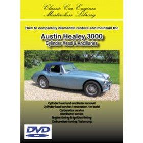 Austin Healey 3000 Engine Rebuild Dvd Austin Healey Austin Engineering