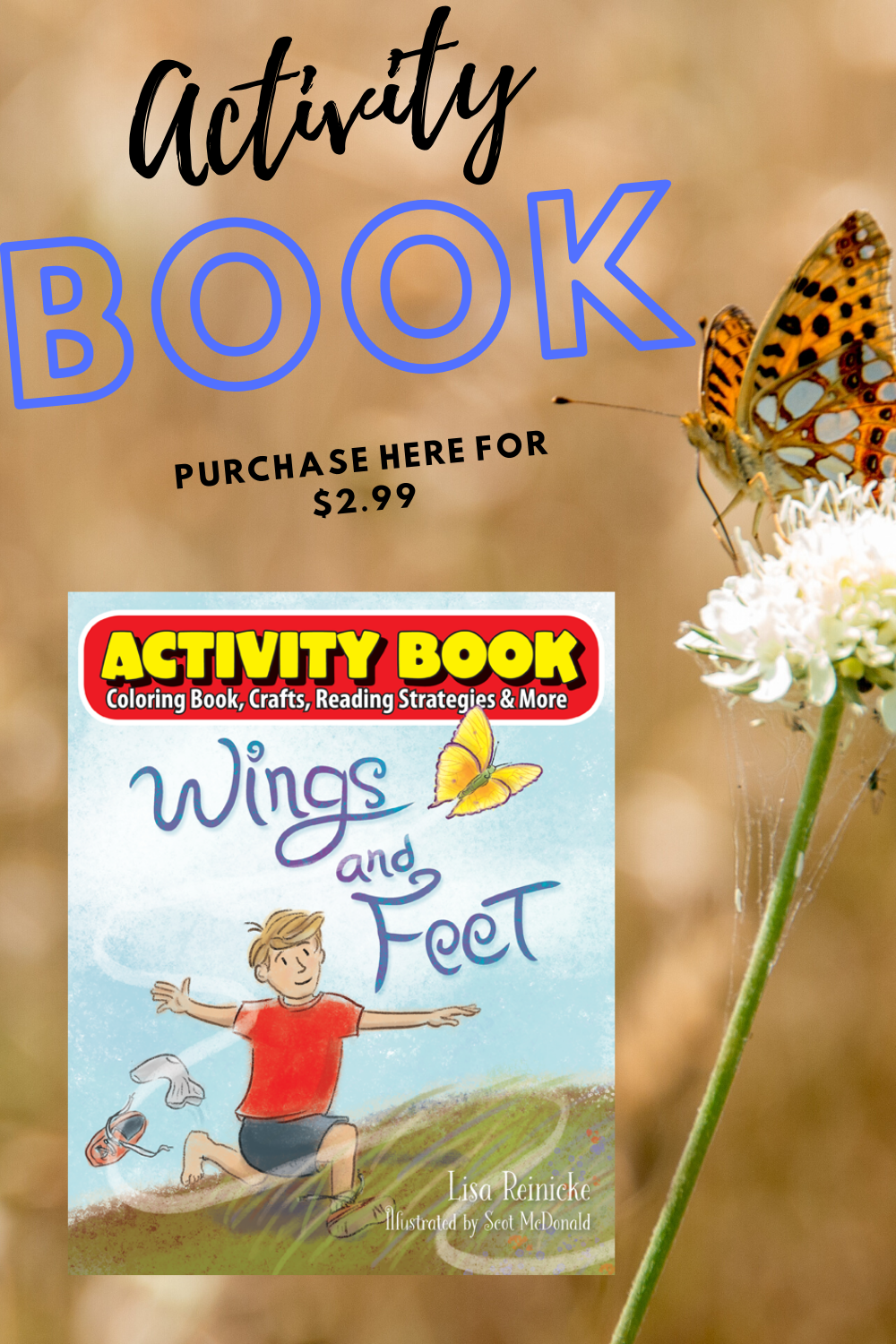 Wings & Feet Activity Book