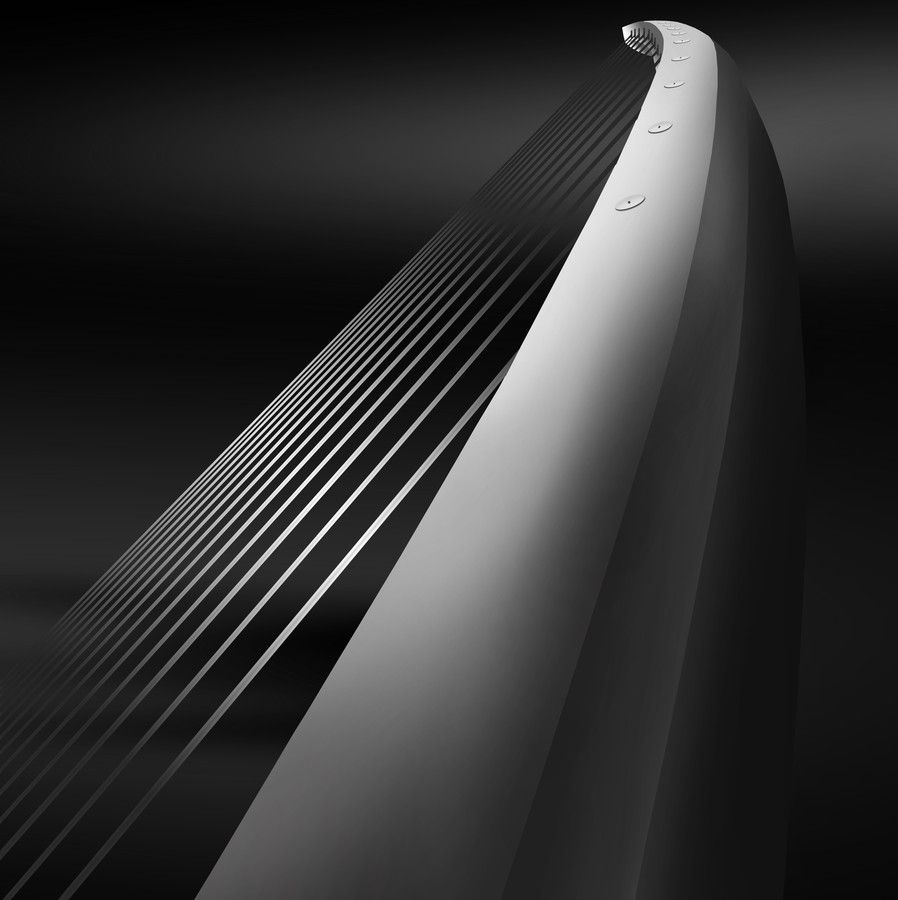 just wow! what a shot....Samuel Beckett bridge by Mihai Medves on 500px
