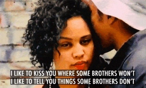 hey bonita. glad to meetcha. #tbt to one of the sweetest songs in hip hop history. share ur fave old school love song in the comments! . also shoutout to #90s hair - is that a #twistout ?