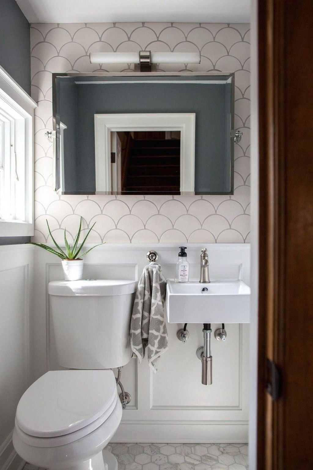 20+ Beautiful Half Bathroom Remodel, Cost, Ideas, and ...