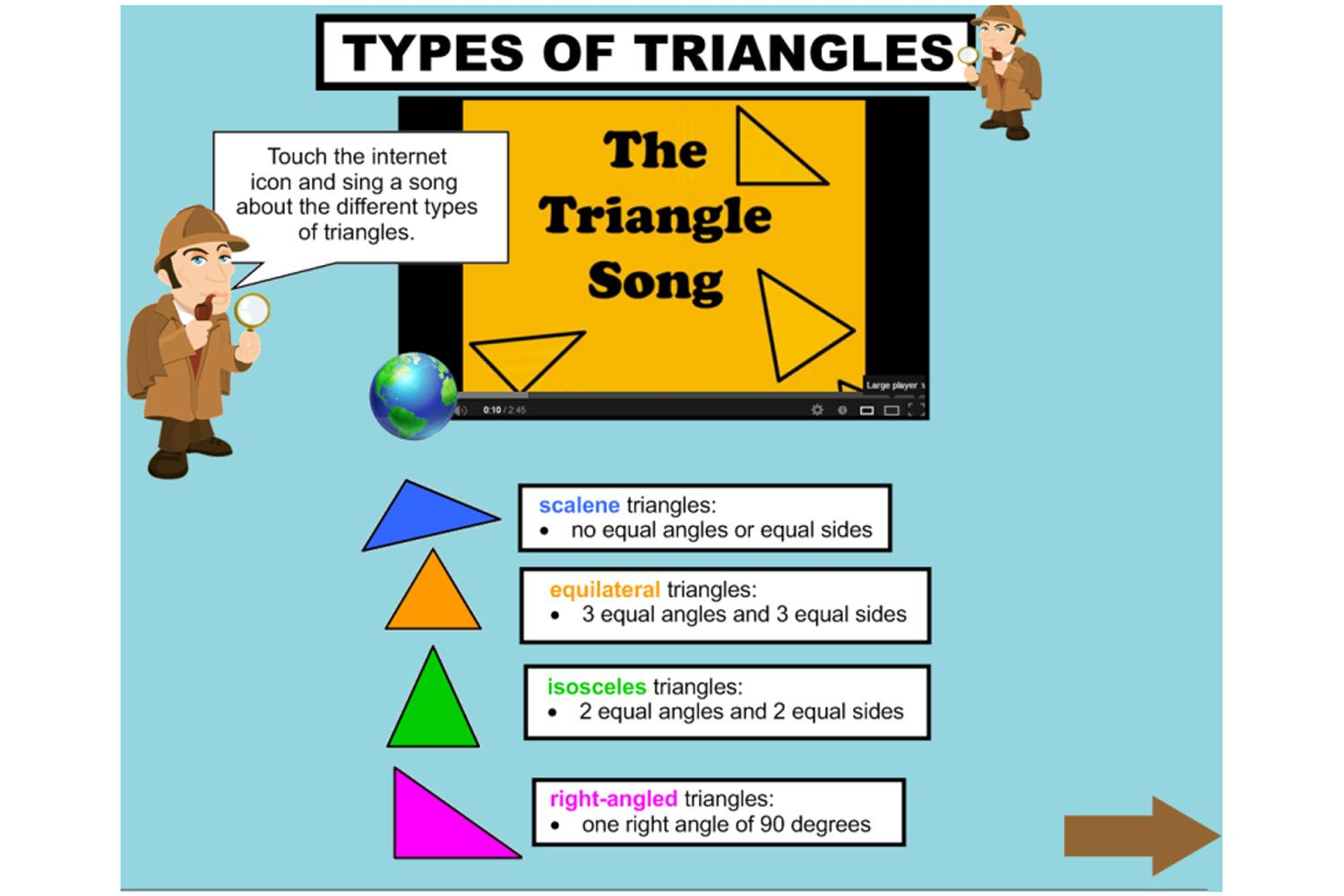 Classify the different types of triangles according to ... - photo#35