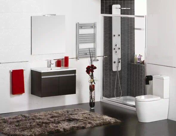 Hermosa decoración para baños minimalistas! Baños Pinterest