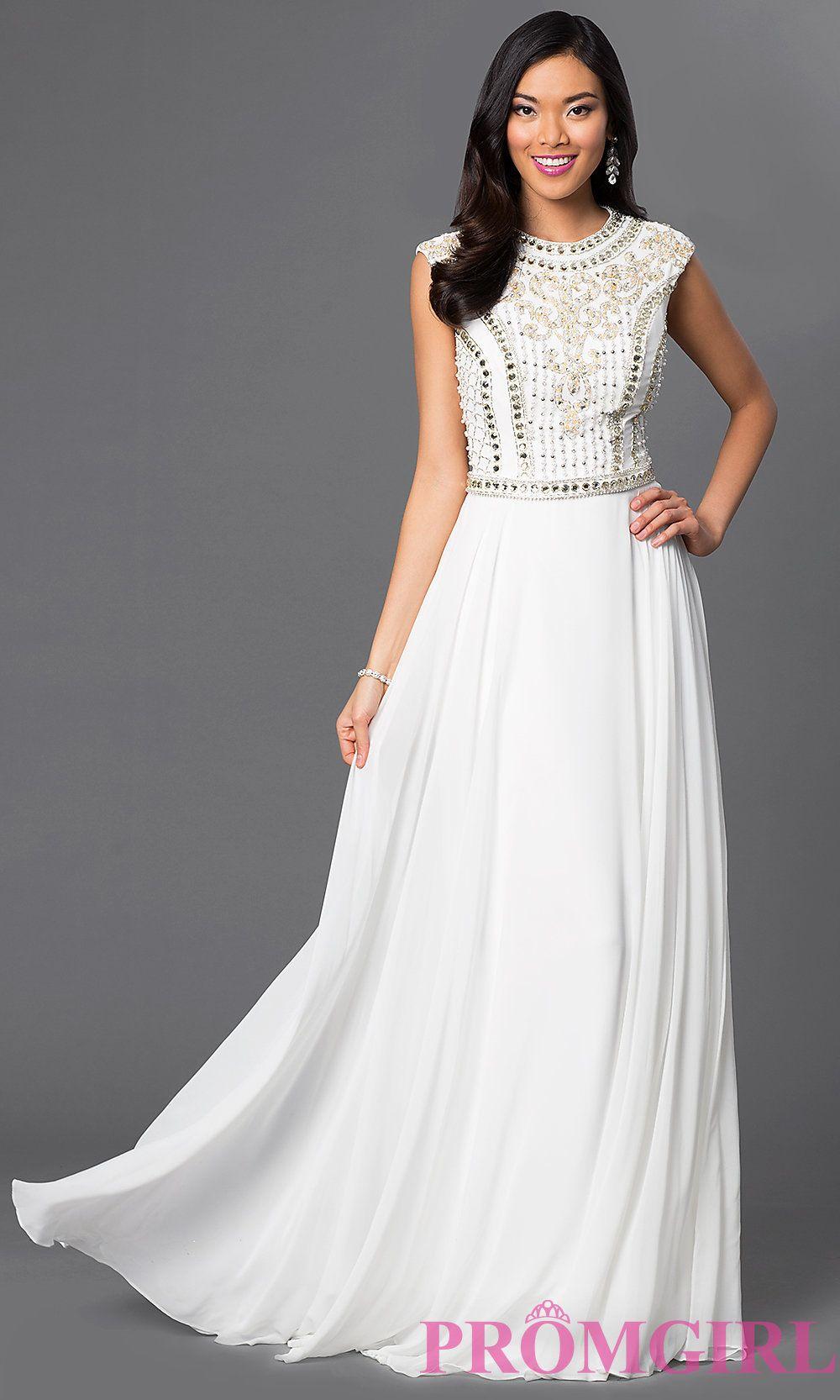 Long beaded prom dress jvn by jovani shops beaded prom dress