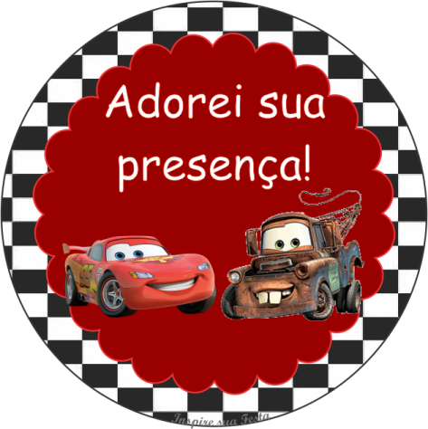 Tag Agradecimento Festa Tematica De Carros Convite De Carros