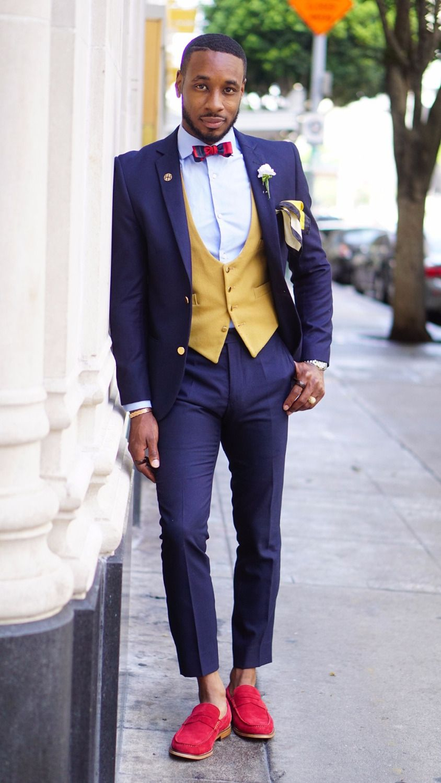 2017 Latest Coat Pant Designs Purple Men\'s Suit Casual Slim Fit Prom ...
