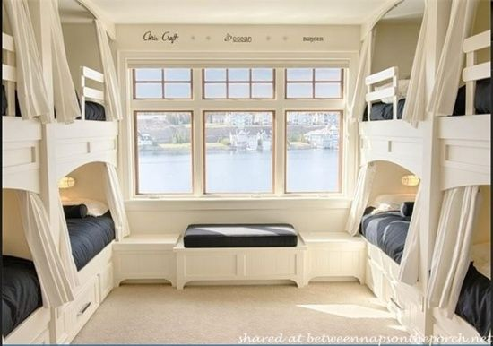 Bunk Beds In Beach Cottage Bunk Beds Pinterest House Bunk