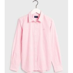 Photo of Gant Broadcloth Gingham Bluse (Pink) GantGant