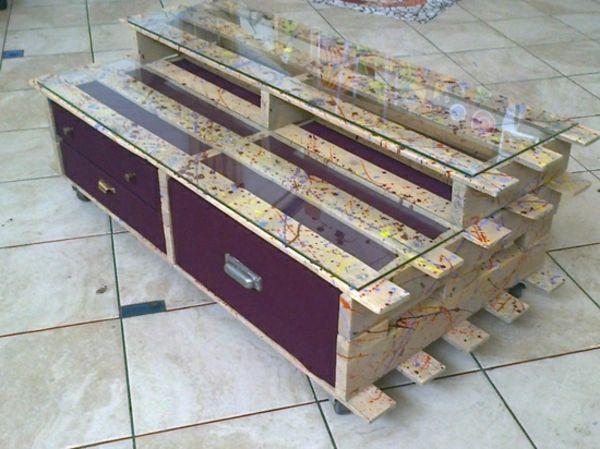 DIY Möbel Aus Europaletten U2013 101 Bastelideen Für Holzpaletten    Europaletten Möbel Selbst Basteln Ideen Schubladen