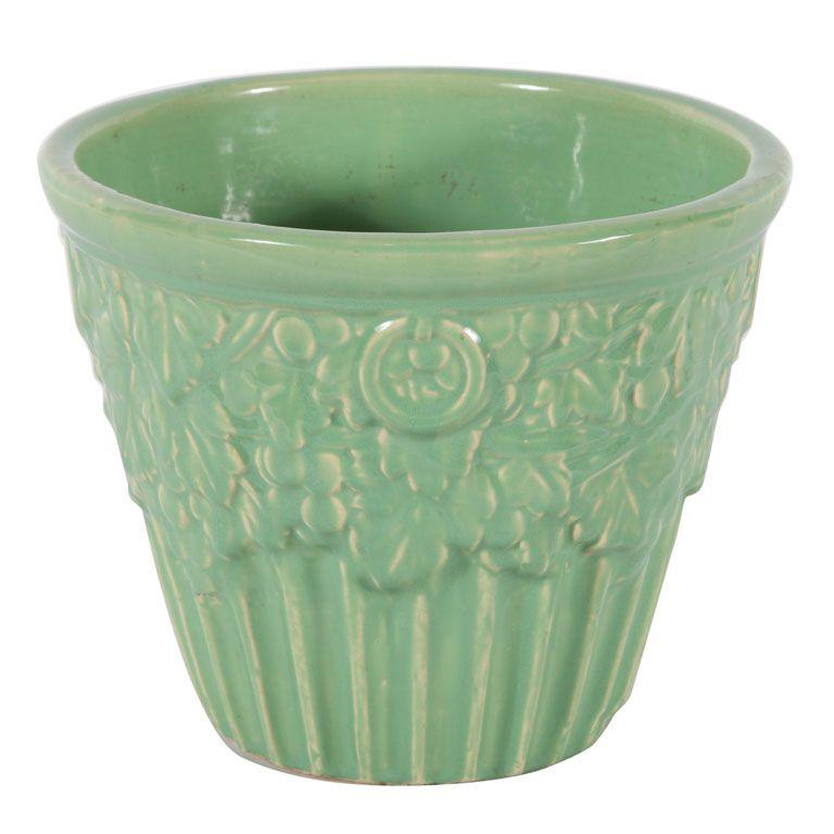 McCoy Pottery Green Jar