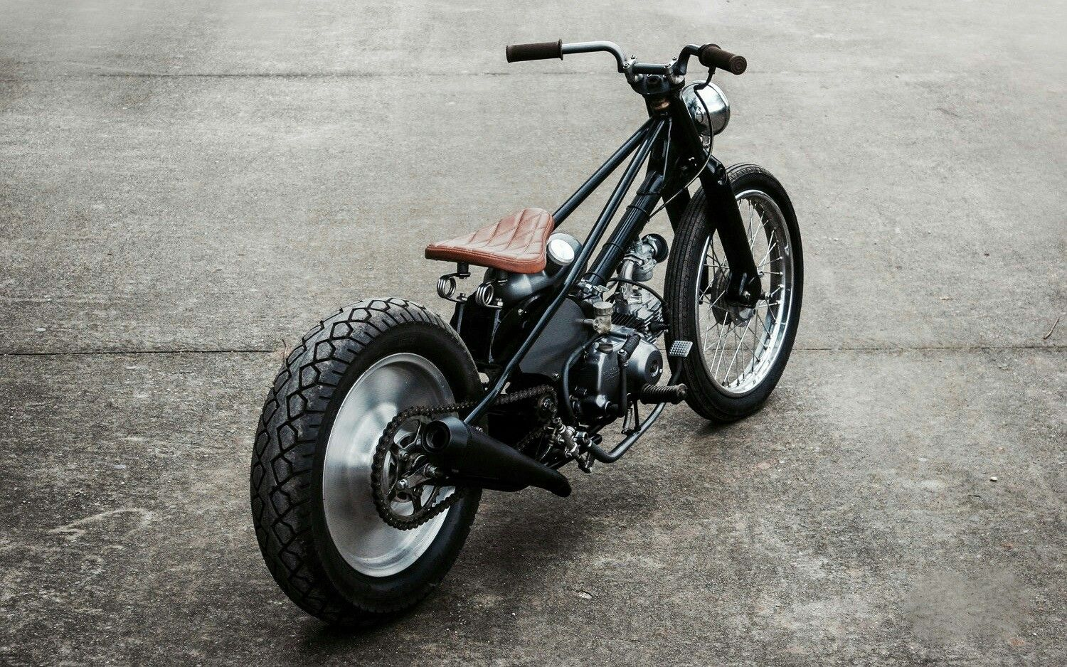 Custom rigid Honda Super Cub by Duong Doan | One-off frame ...