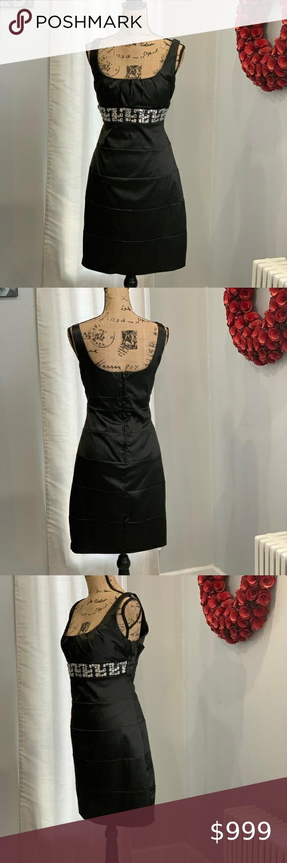 Bisou Bisou Black Dress Size 14 Black Dress Size 14 Black Dress Dresses [ 1740 x 580 Pixel ]