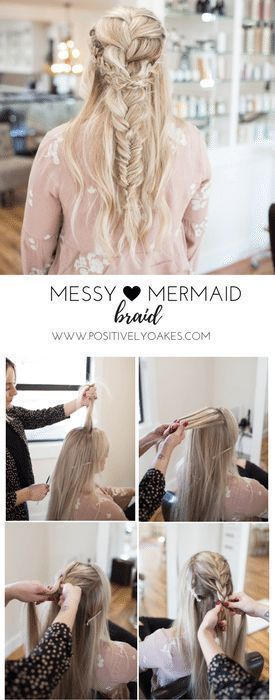 Hair // Boho Messy Braid Tutorial #messybraids