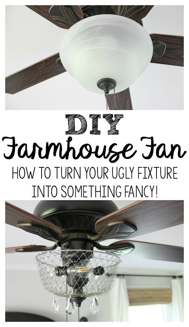 Unusual Ceiling Fans For Sale Diy Farmhouse Fan Making Over Your Ugly Fixture General Diy