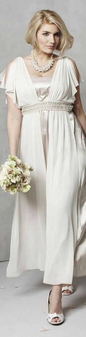 Wedding Dresses For Older Brides Plus Size | Rose Gold Wedding ...