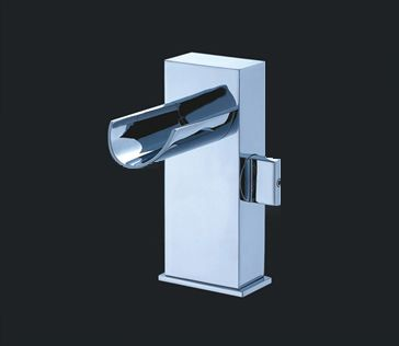 Melila I Chrome Finish Modern Bathroom Faucet