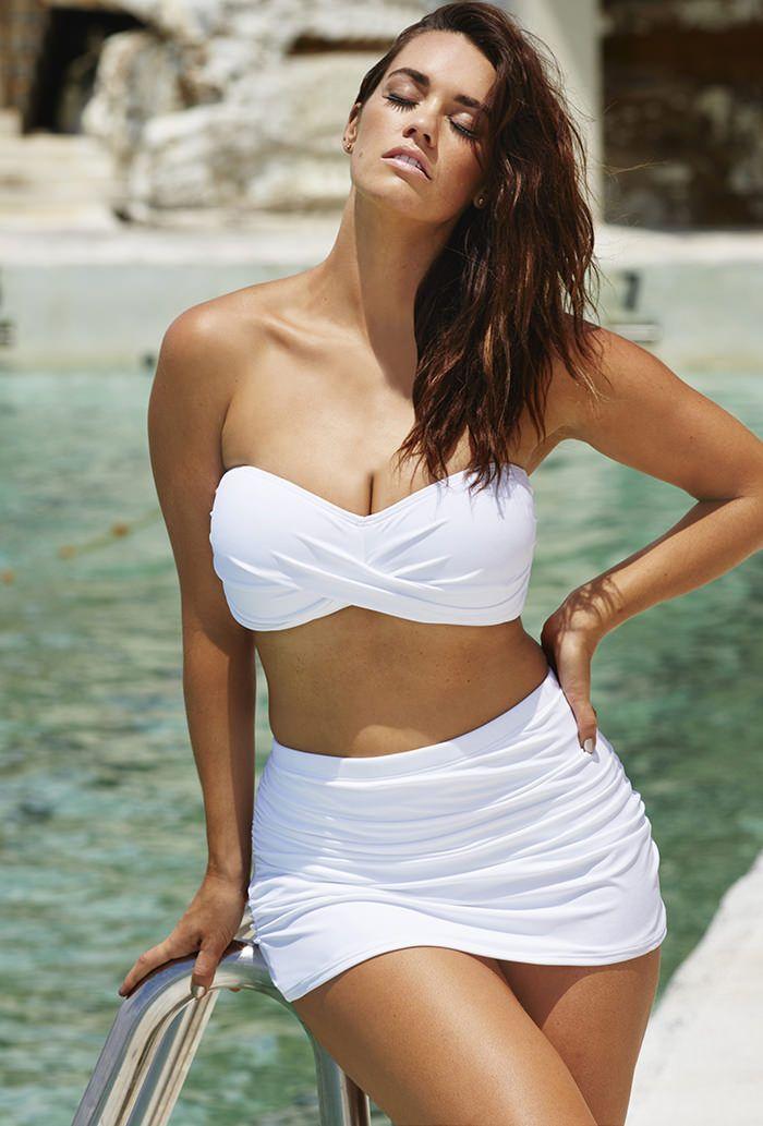 Plus Size Bikini Plus Size Shirred
