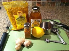Ginger-Tumeric Tea, heal while you sleep tonic