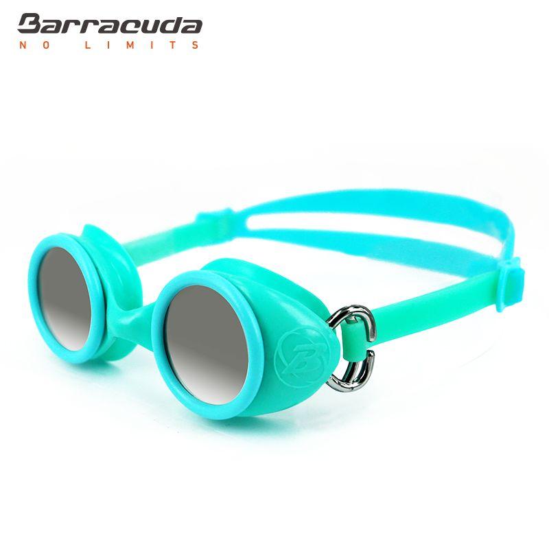 6e00dd2bd361 Barracuda Junior Swim Goggle WIZARD MIRROR - Mirror Lenses Quick Release  Silicone Strap