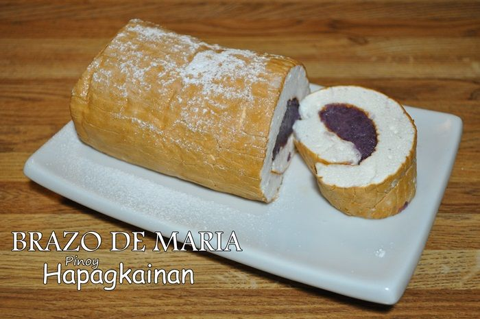 Brazo De Maria Recipe Filling Recipes Baking Filipino Desserts