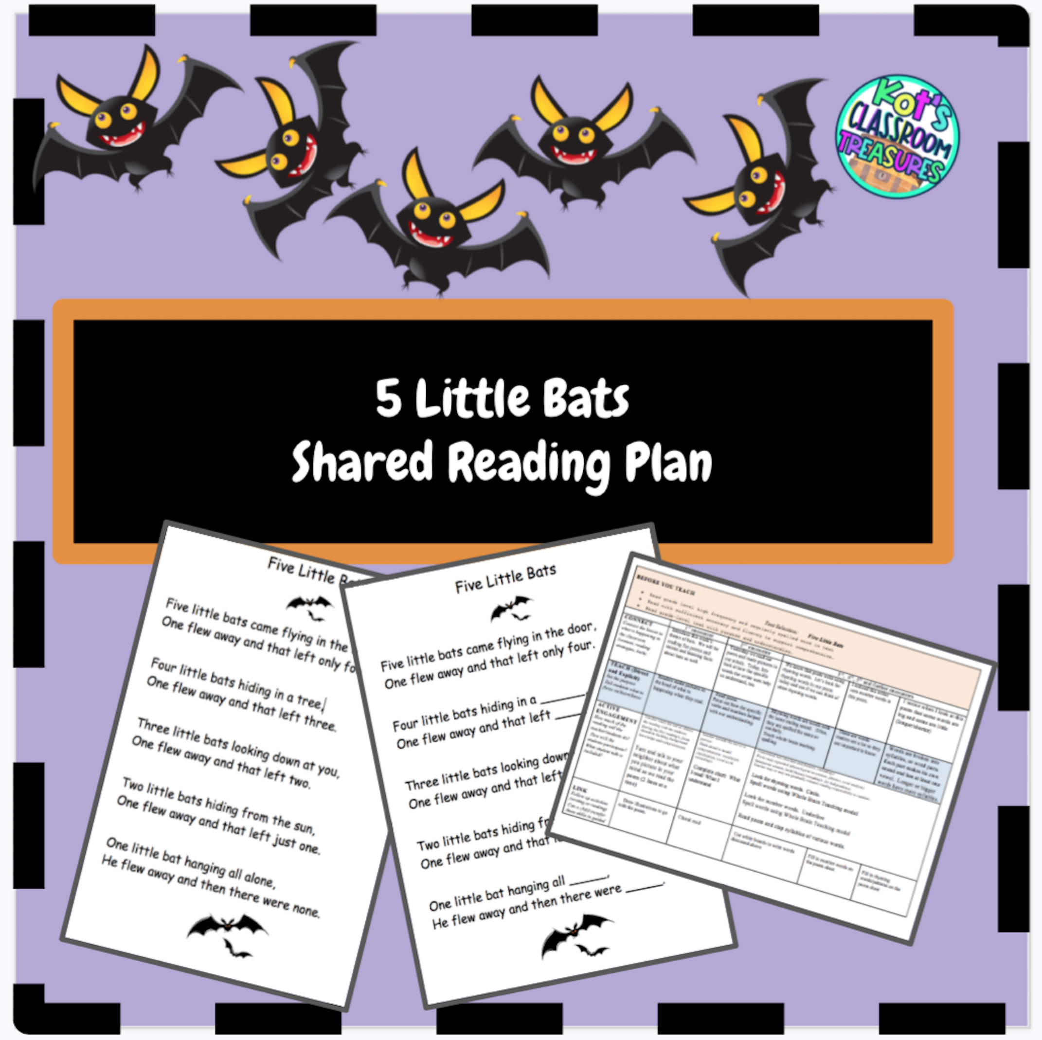 Bat Unit Shared Reading And Interactive Read Aloud