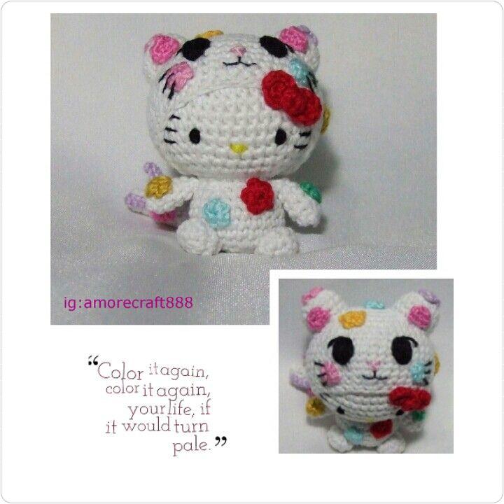 Hello kitty dress as Tokidoki Palette   Amigurumi ^.^   Pinterest ...
