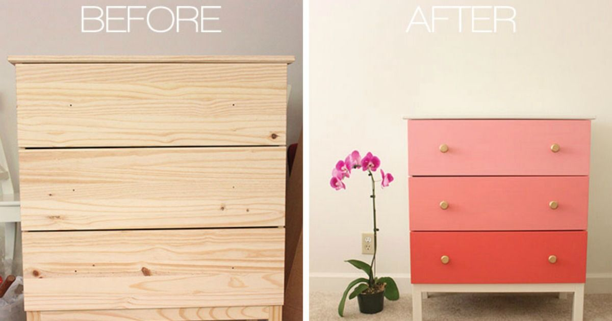 Customiser la commode Tarva Ikea Tarva ikea and Ikea hack