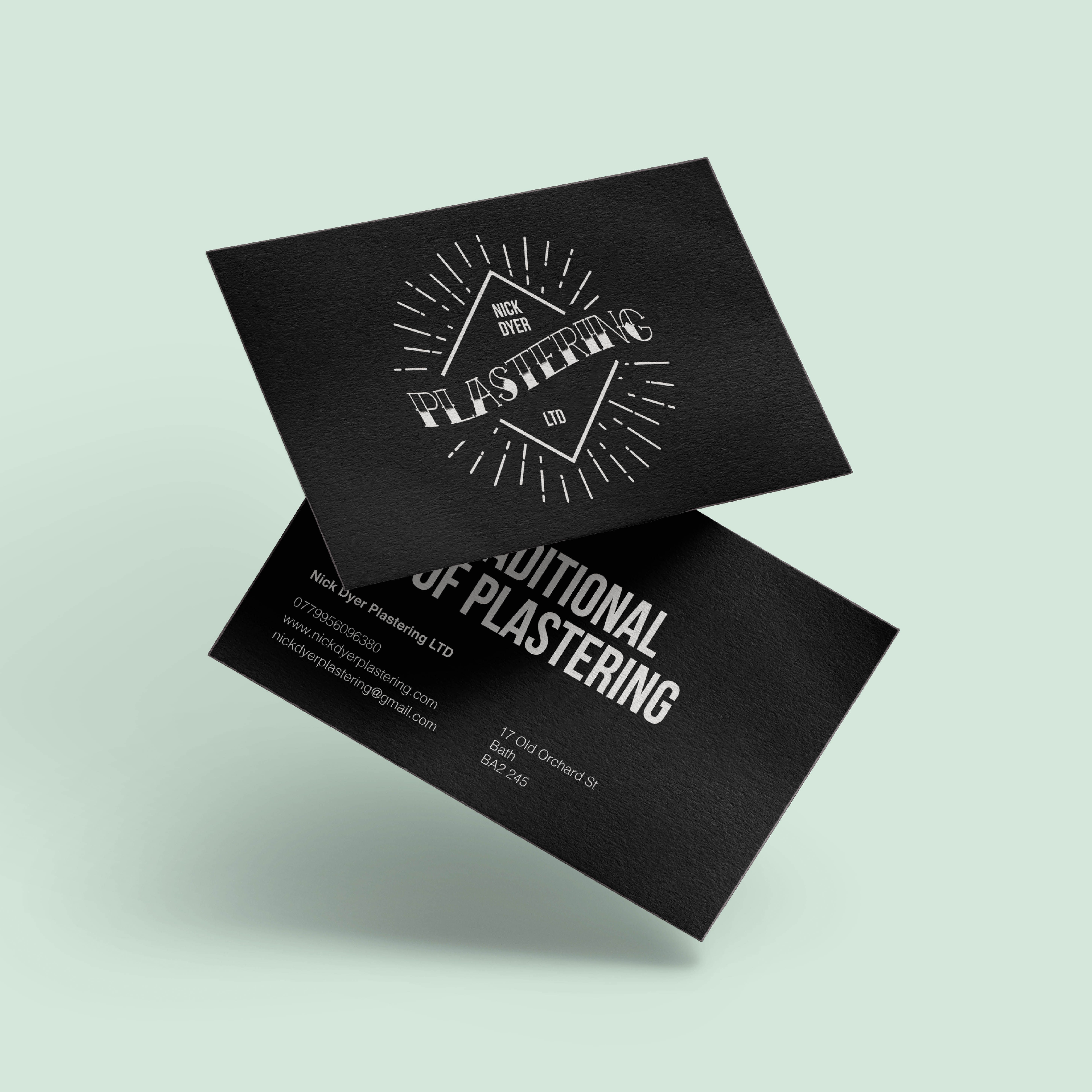 Nick Dyer Plastering Createdjasmine With Plastering Business Cards Templates Cumed Org Card Template Free Business Card Templates Business Card Template