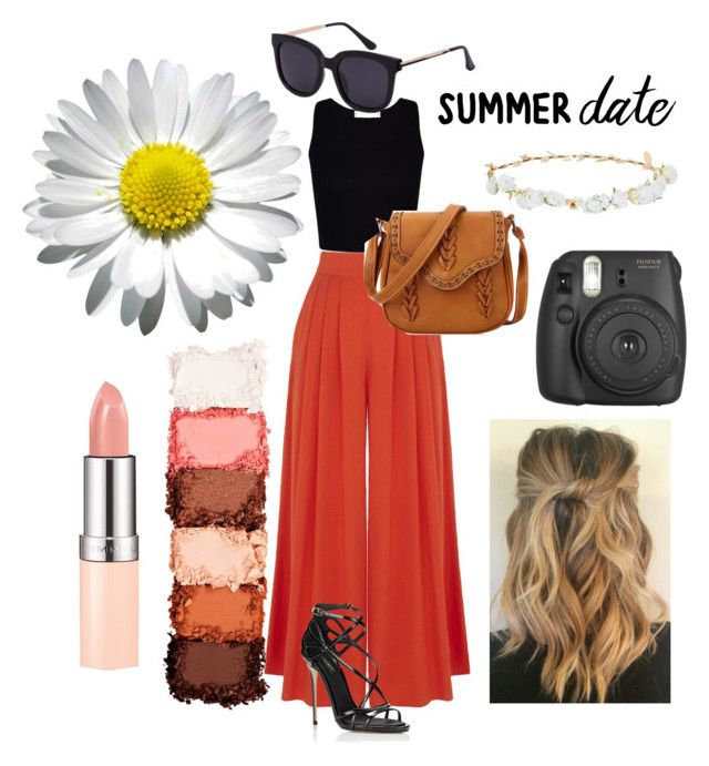 """Summer Date"" by abbydeinert ❤ liked on Polyvore featuring Warehouse, Dolce&Gabbana, Design Lab and NYX"
