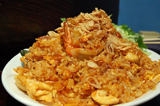 """Nasi Goreng – My Dutch father taught me how to make this dish from his birthplace in Indonesia"""