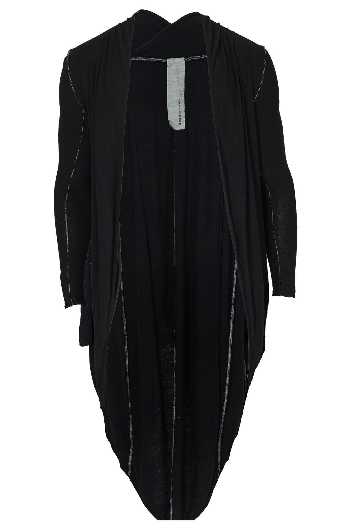 ALEKSANDR MANAMIS | Cocoon raw silk cardigan