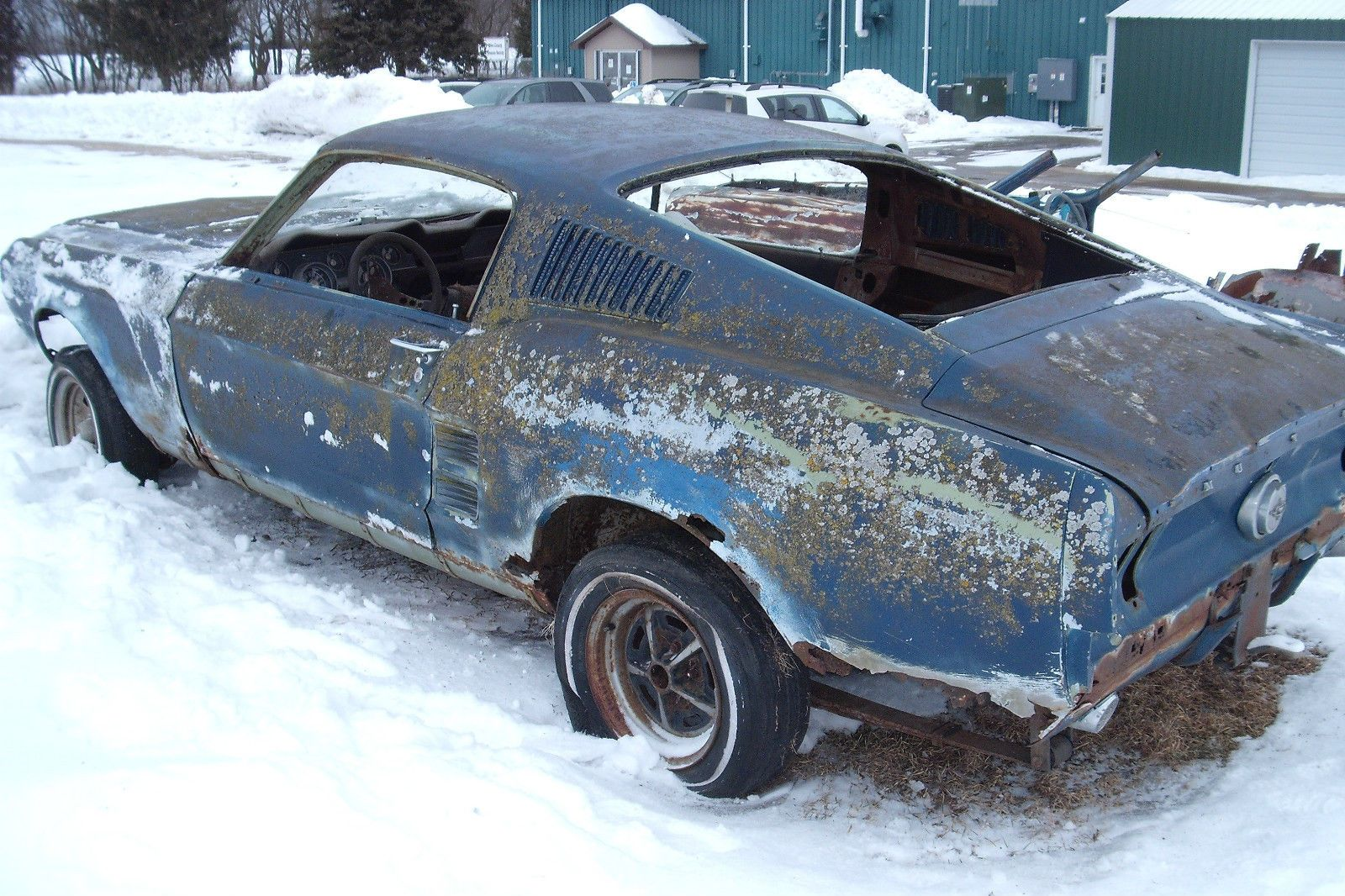 1967 ford mustang fastback project car | salvage cars for sale