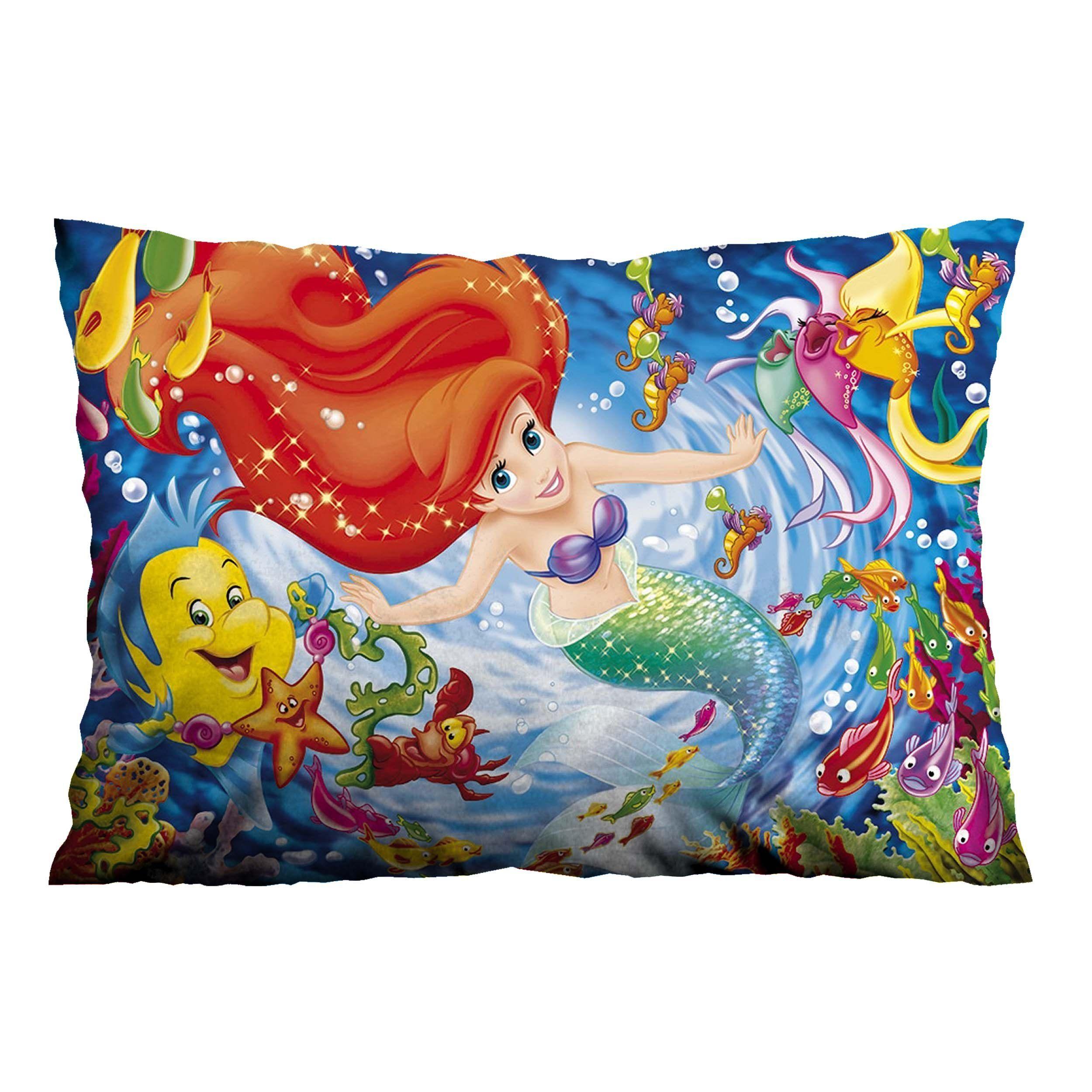LITTLE MERMAID ARIEL Pillow Case Cover