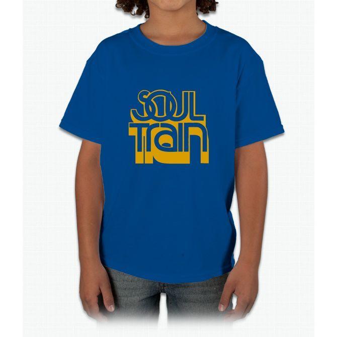 SOUL TRAIN (YELLOW) Young T-Shirt